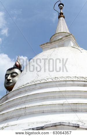White Dagoba And Hear
