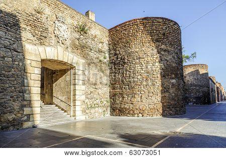Roman Walls Of Leon