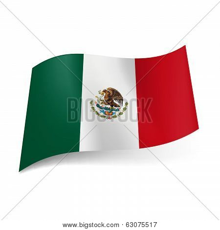 State flag of Mexico
