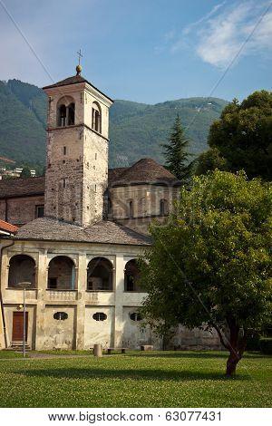 old church in Locarno, Switzerland