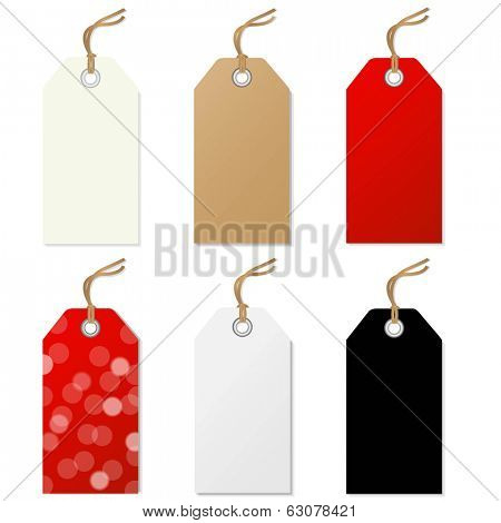 Sale Tags Set