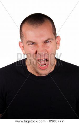 Expressão de raiva