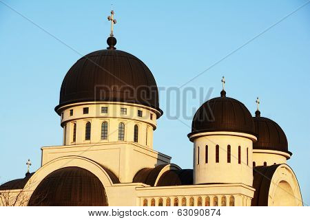 Orthodox Cathedral of Holy Trinity in Arad, Romania, Europe