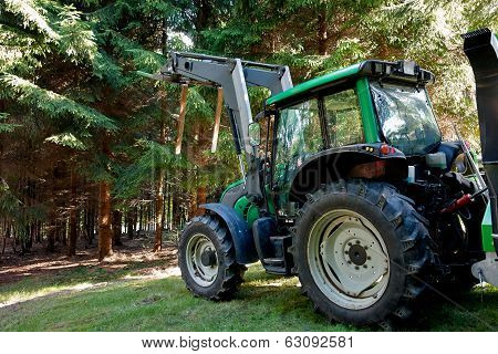 Heavy Machine Forestry