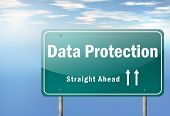 Highway Signpost Data Protection