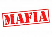 image of loan-shark  - MAFIA red Rubber Stamp over a white background - JPG