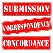 Submission,correspondence,concordance