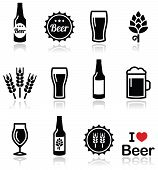 picture of glass heart  - Drinking beer - JPG