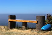 picture of bangladesh  - Hilltop empty seat in Bandarban Bangladesh in sky - JPG