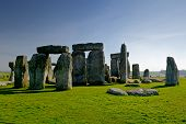 picture of stonehenge  - Stonehenge monument taken at Wiltshire - JPG