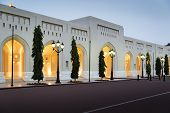 foto of oman  - Place at Sultan Qaboos Palace in Muscat Oman - JPG
