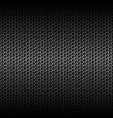picture of metal grate  - Black carbon background with horizontal light in centre - JPG