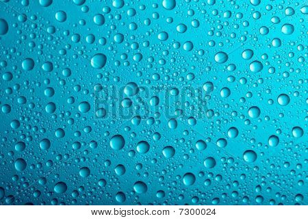 Water Drops Background Texture.