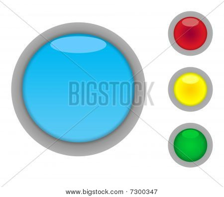 Blank Button Icons