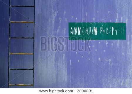 Chemical Ammonium Phosphate Tank