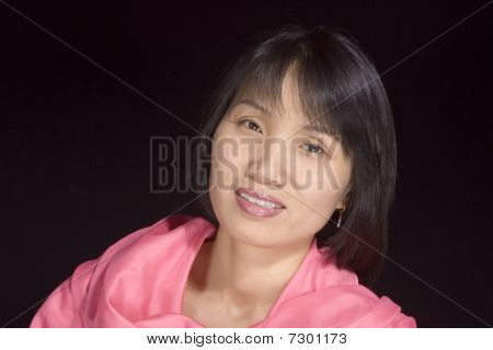 Portrait of Korean woman