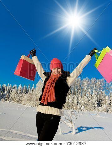 Enjoying the Snow Midwinter Joy