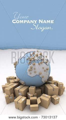 The world and lots of packages. The Earth texture comes from the Nasa free of use images