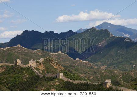 Chinos antiguos tiempos de la gran muralla