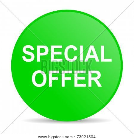 special offer internet icon