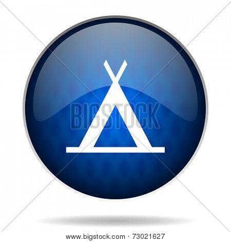 tant internet blue icon