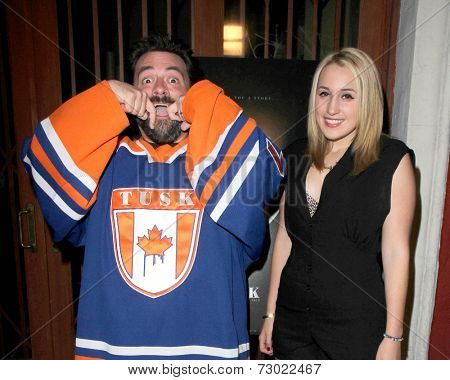 LOS ANGELES - SEP 16:  Kevin Smith, Harley Quinn Smith at the