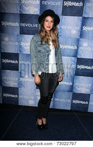 LOS ANGELES - SEP 18:  Shenae Grimes at the People Stylewatch Hosts Hollywood Denim Party at The Line on September 18, 2014 in Los Angeles, CA