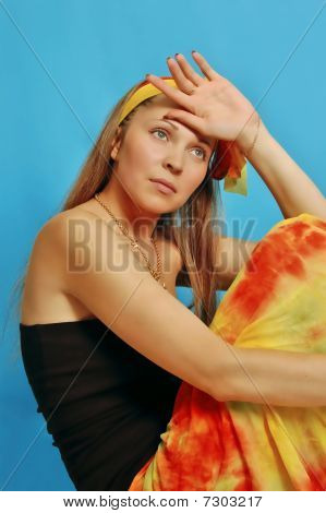 Woman In Sarong