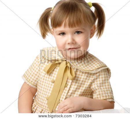 Portrait Of A Little Girl, Back To School