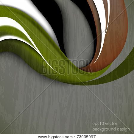 eps10 vector grunge wave concept business background