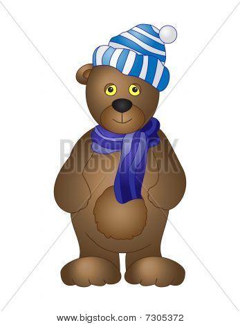 A Toy Bear Cub