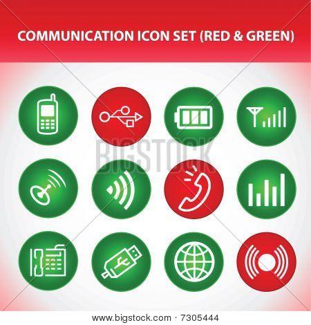 Communictation Icon Set