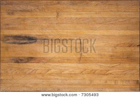 Placa de corte de bloco de carniceiro de envelhecido