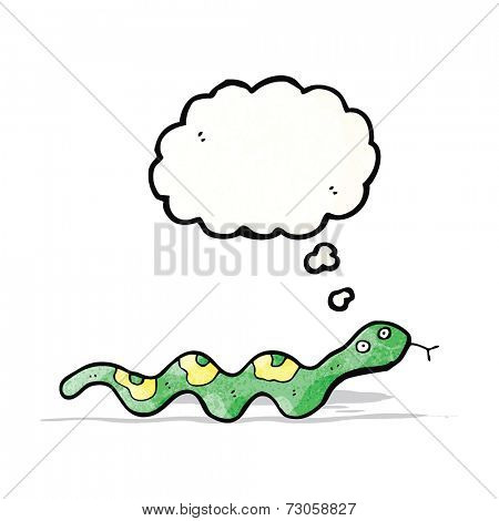 cartoon slithering snake