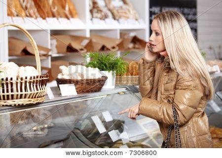 in einer Bäckerei