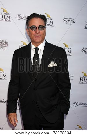 AVALON - SEP 27:  Andy Garcia at the Catalina Film Festival Gala at the Casino on September 27, 2014 in Avalon, Catalina Island, CA