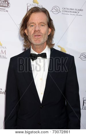 AVALON - SEP 27:  William H. Macy at the Catalina Film Festival Gala at the Casino on September 27, 2014 in Avalon, Catalina Island, CA