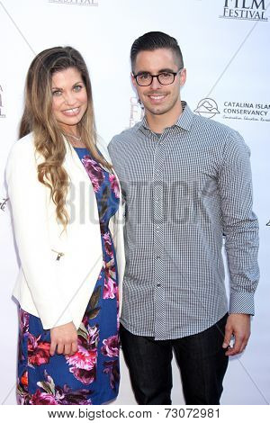 AVALON - SEP 27:  Danielle Fishel, Tim Belusko at the Catalina Film Festival Gala at the Casino on September 27, 2014 in Avalon, Catalina Island, CA