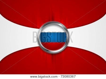 Russian Federation background. Vector design
