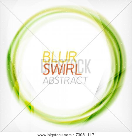 Business color swirl minimal design template. Techno, business card, presentation or brochure abstract background
