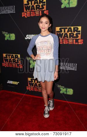 LOS ANGELES - SEP 27:  Rowan Blanchard at the