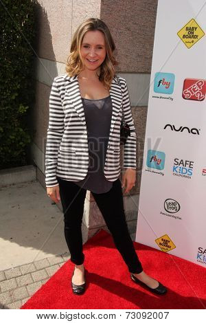 LOS ANGELES - SEP 28:  Beverly Mitchell at the 3rd Annual Red CARpet Safety at Skirball Center on September 28, 2014 in Los Angeles, CA