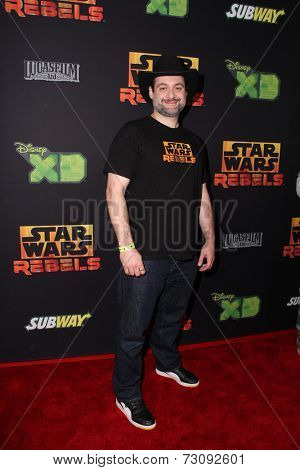 LOS ANGELES - SEP 27:  Dave Filoni at the
