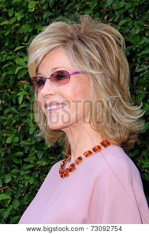 LOS ANGELES - SEP 28:  Jane Fonda at the The Rape Foundation's Annual Brunch at Private Location on September 28, 2014 in Beverly Hills, CA