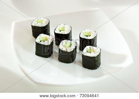 Kappamaki - Cucumber Sushi Roll