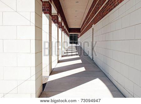 Exterior Geometric Walkway