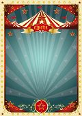 picture of funfair  - cream retro circus background - JPG