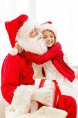 stock photo of christmas claus  - holidays - JPG