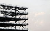 picture of girder  - Construction site - JPG