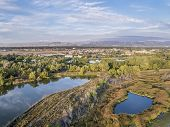 foto of collins  - aerial view of Cotton Hollow - JPG